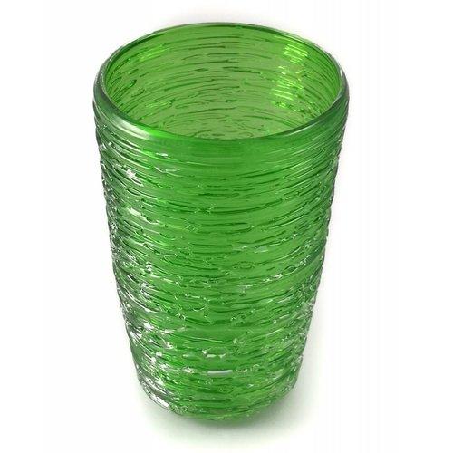 Bob Crooks Tornado Tumbler verde esmeralda