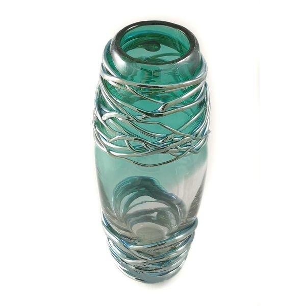 sm vase green