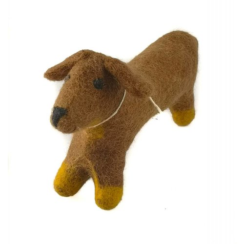 Amica Accessories Juguete mediano para perro salchicha
