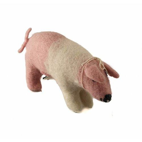 Amica Accessories Roze varken speelgoed medium