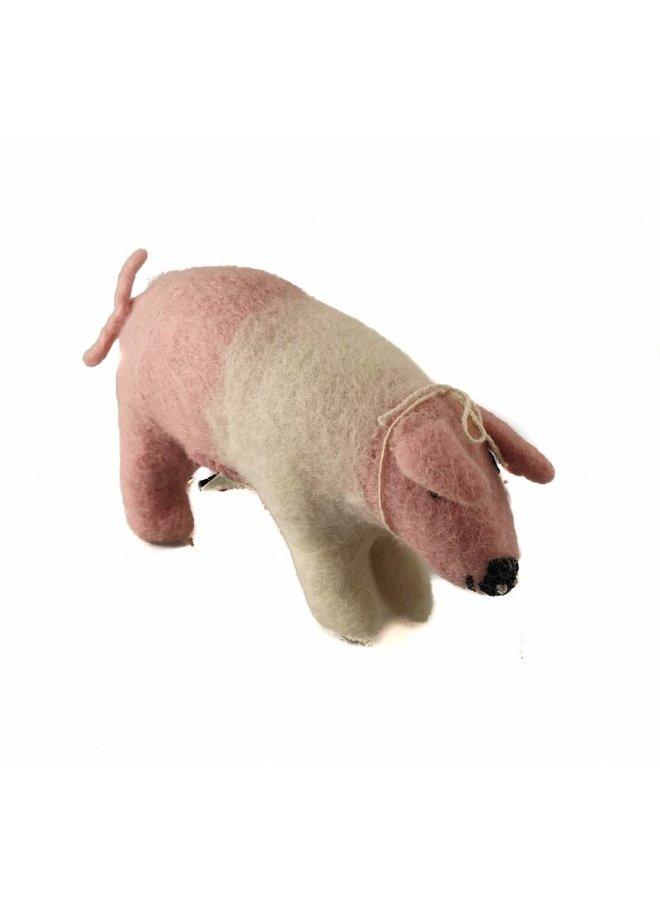 Pink Pig Toy Medium