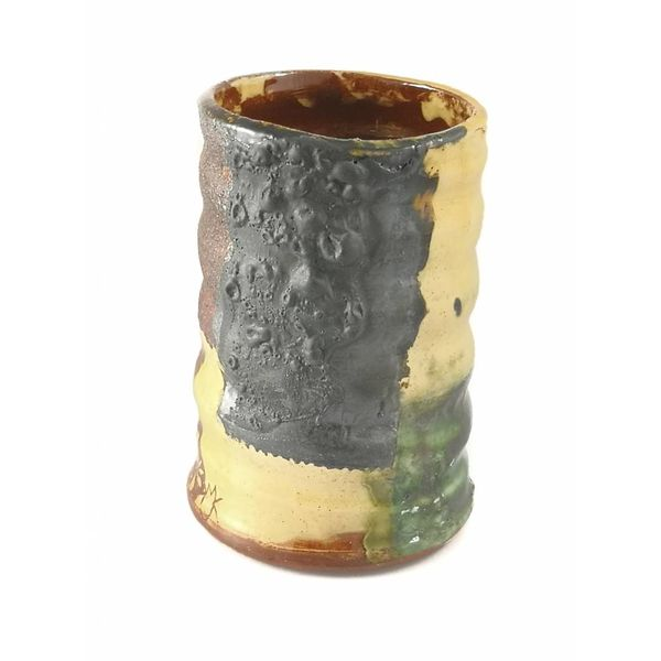 Garden Allotment Slipware Vase 2