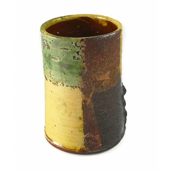 Garden Allotment Slipware Vase 4