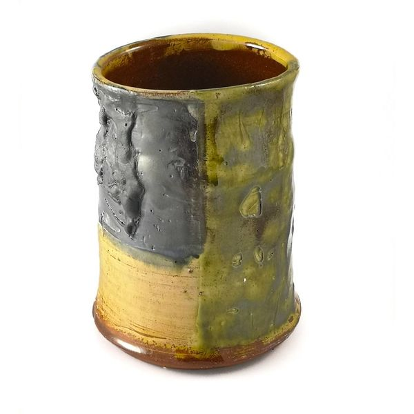 Garden Allotment Slipware Vase 5