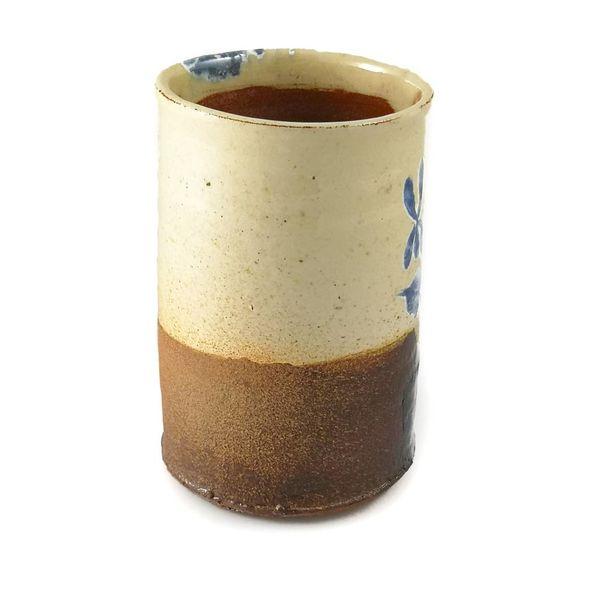Garden Allotment Slipware Vase 3