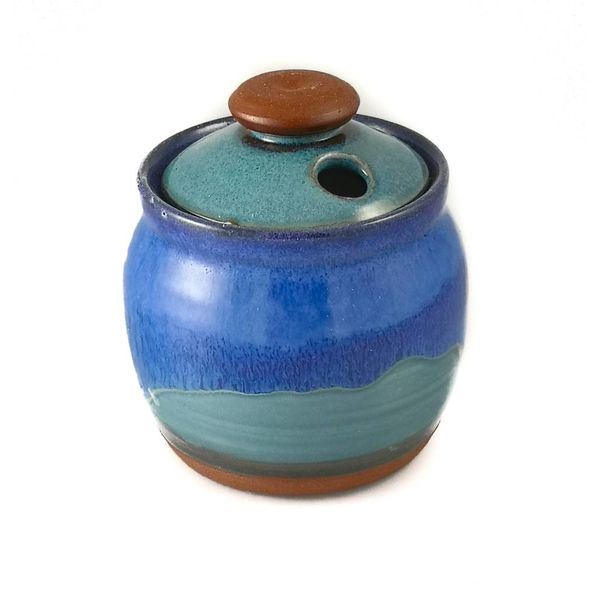 Garlic Pot ceramic with lid