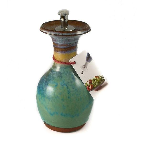 Olive Oil Decanter ceramic medium 2