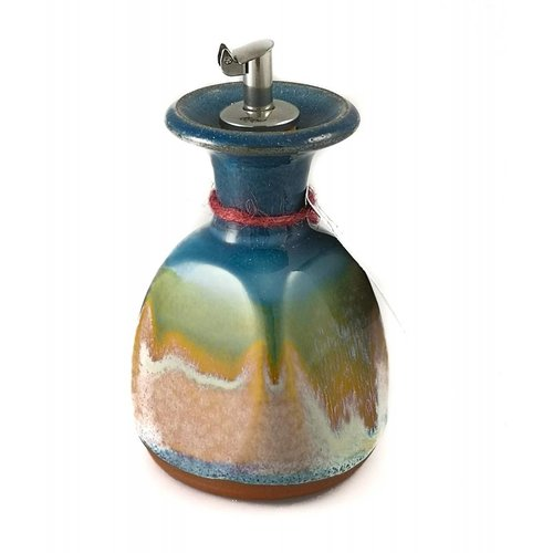 R B Ceramics Olive Oil Decanter ceramic medium 3
