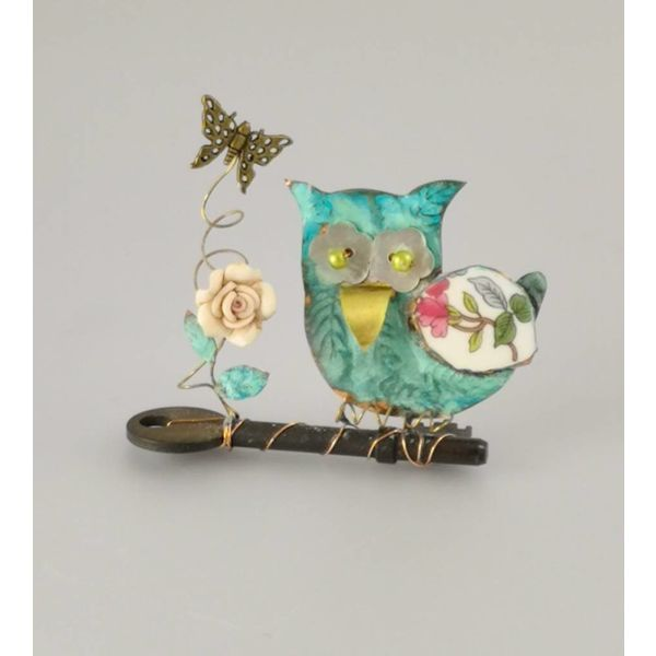 Small Owl on Key Assemblage