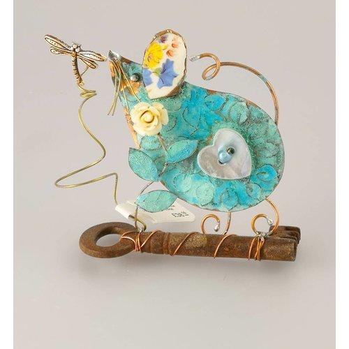 Beastie Assemblage Kleine Maus auf Schlüssel-Assemblage