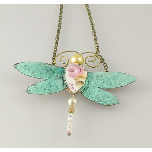 Dragonfly Necklace 006