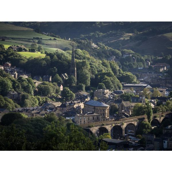 Todmorden from on High