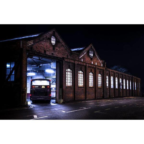 Todmorden Millwood Bus Station