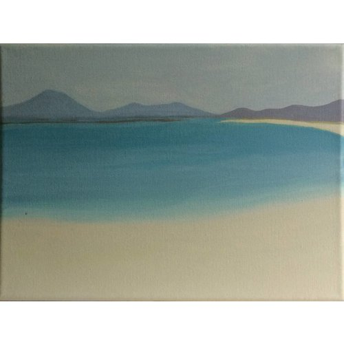 Susan Askey Jeder Strand, Berneray