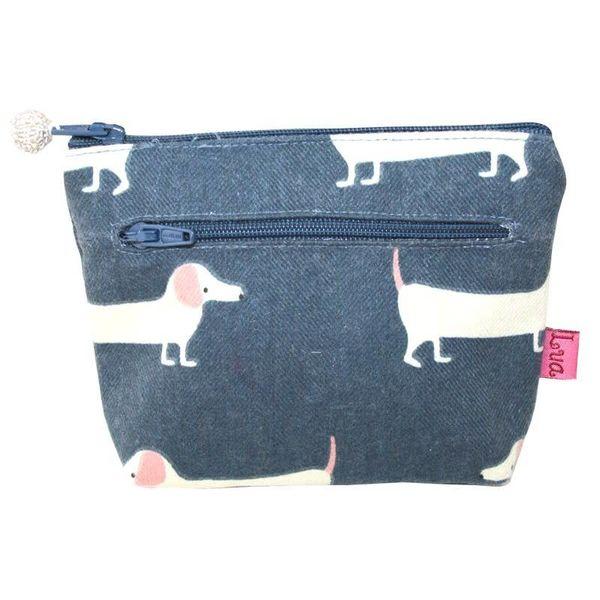 Two zip purse
