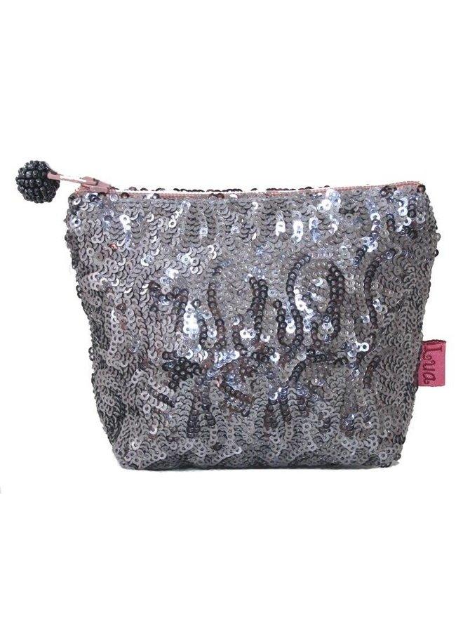 Mini-Portemonnaie mit Reißverschluss