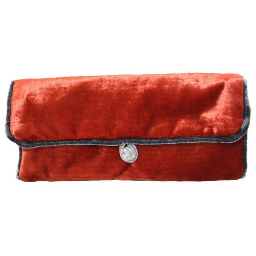 LUA Silk velvet jewellery roll