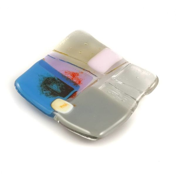 Tiny Trinket shallow glass dish 05