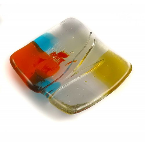 Kim Bramley Tiny Trinket shallow glass dish 08