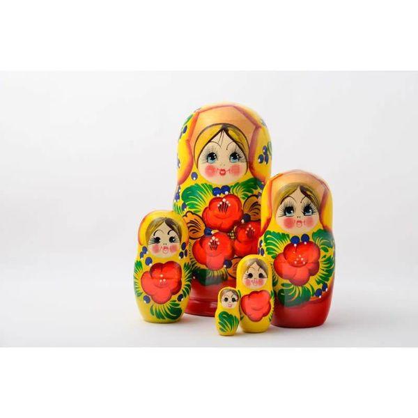 5 Nesting Martyoshka Doll Large 02