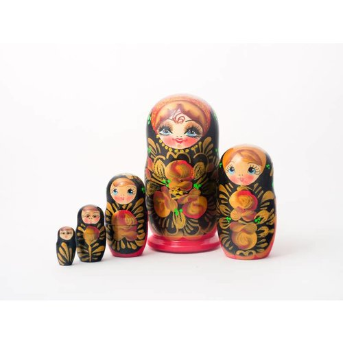 Russian Gifts 5 Nesting Martyoshka Doll  Medium 04