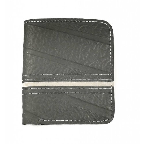 Paguro Wallets Wallet inner tube Black purple Dody slim  style