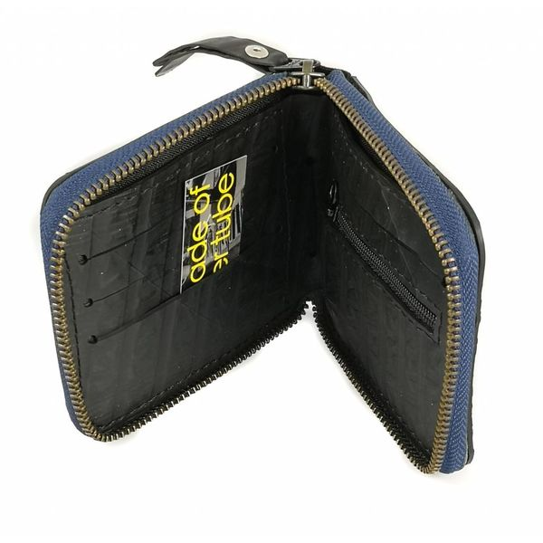 Zip wallet cards and coin compartment Toby