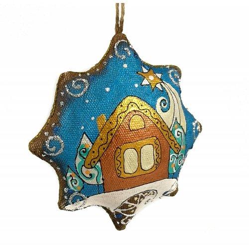 Kosa Deresa Estrella de noche hecha a mano decoración