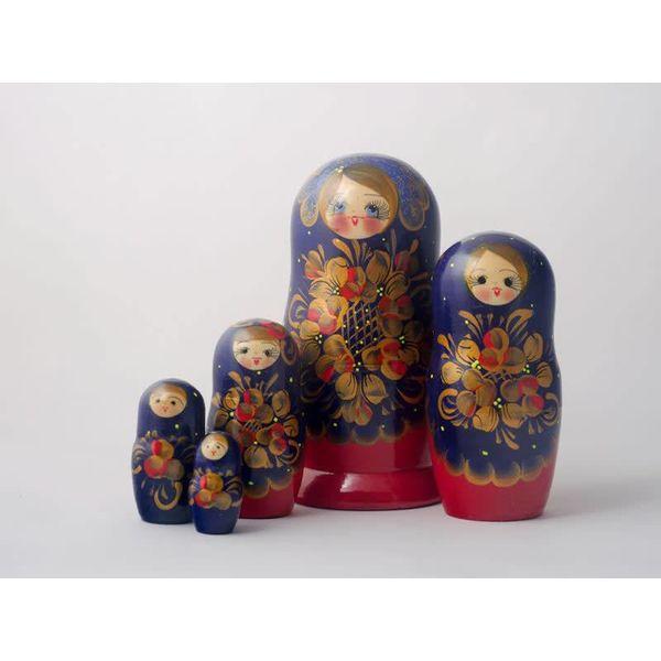 5 Nesting Martyoshka Doll Large  01