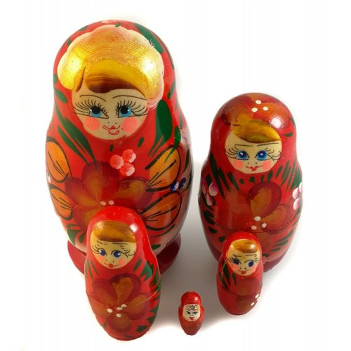 Russian Gifts 5 Nesting Martyoshka Doll  Small 26