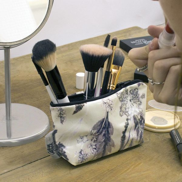 Winter Flourish makeup bag 21