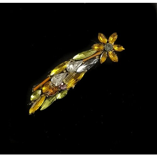 Annie Sherburne Vintage shooting star brooch 102