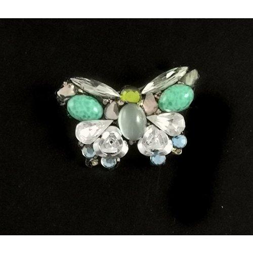 Annie Sherburne Mariposa pequeña broche vintage 108