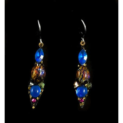 Annie Sherburne Vintage small drop earrings 110