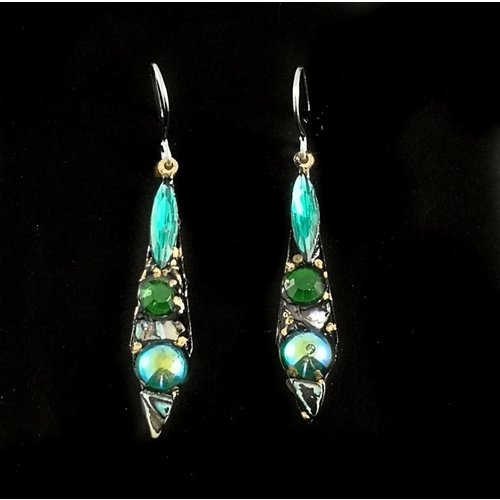 Annie Sherburne Vintage small drop earrings 111