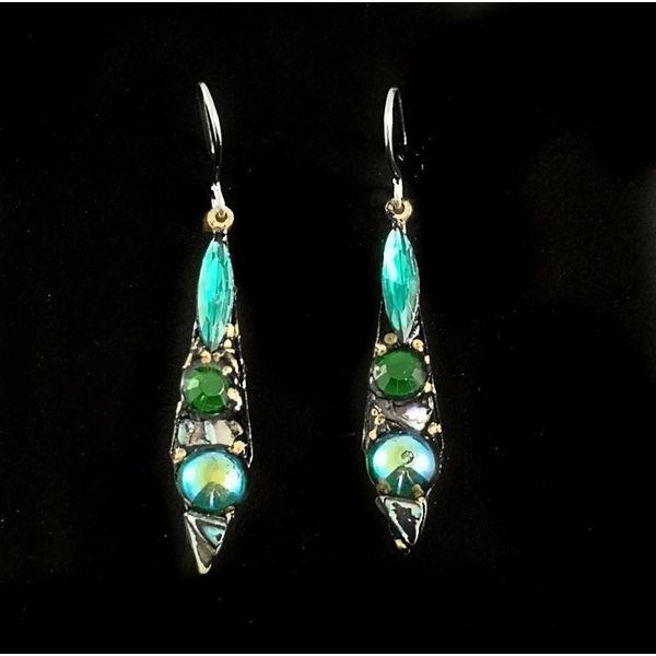 Vintage small drop earrings 111