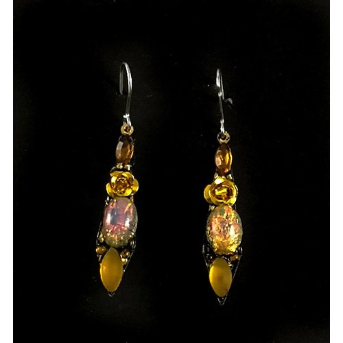 Annie Sherburne Vintage small drop earrings 115