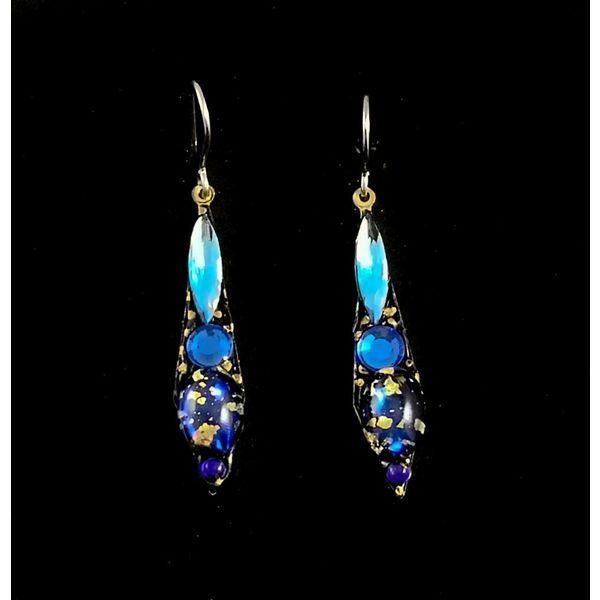 Vintage small drop earrings 116