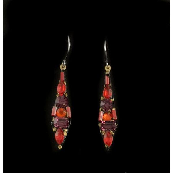 Vintage small drop earrings 117