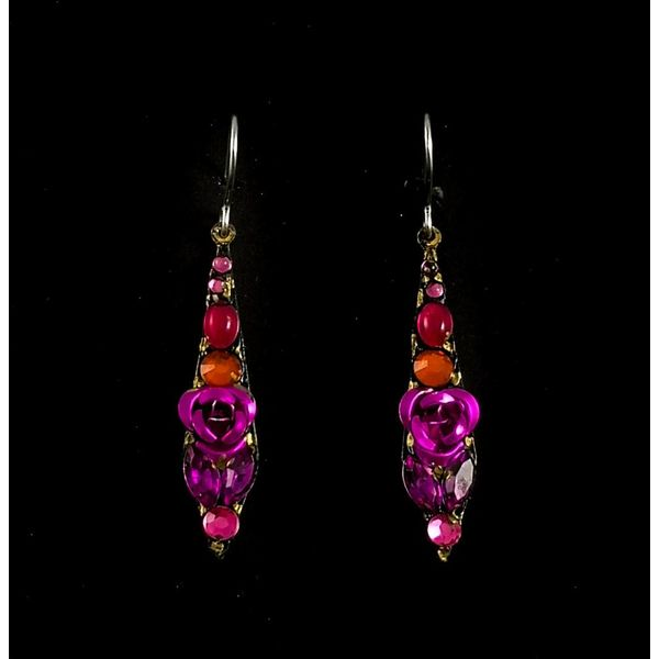 Vintage small drop earrings 118