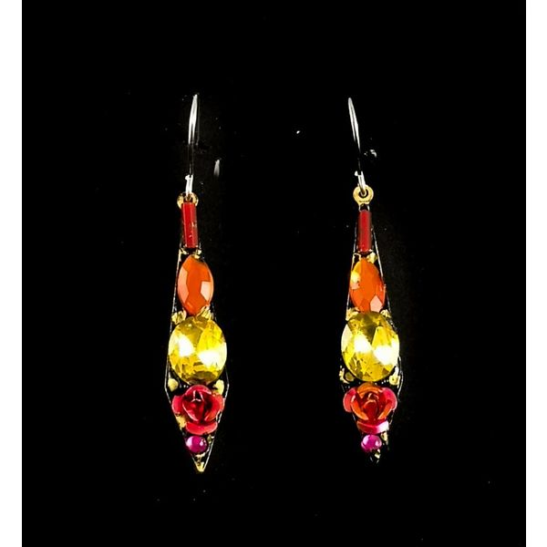 Vintage small drop earrings 121
