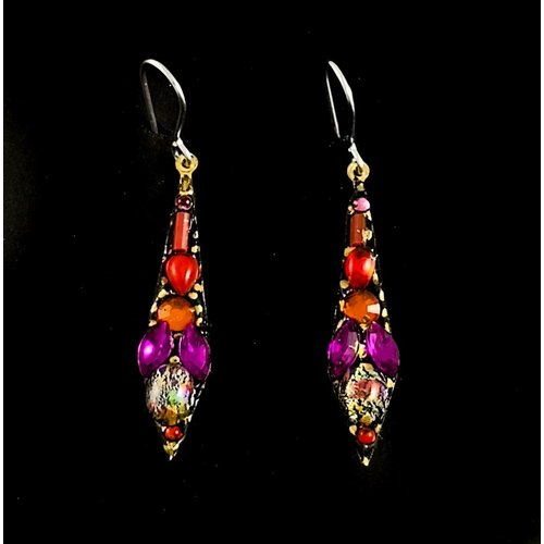 Annie Sherburne Vintage small drop earrings 123