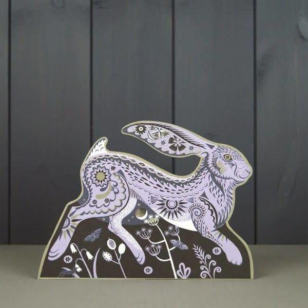 Hester la tarjeta de corte liebre por Sarah Young