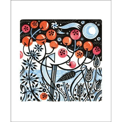 Art Angels Winter Berries by Angie Lewin