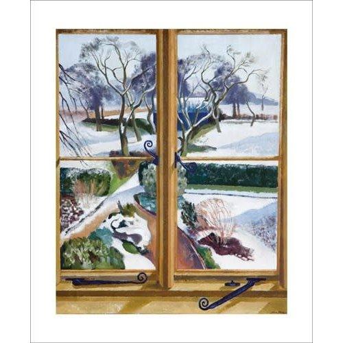 Art Angels Der Garten unter der Schnee-Karte von John Nash