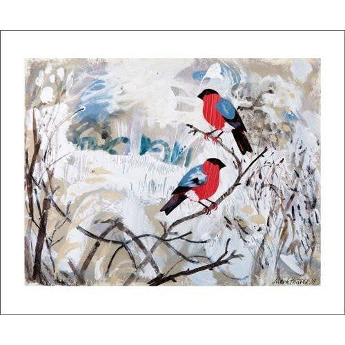 Art Angels Bullfinches von Mark Herald