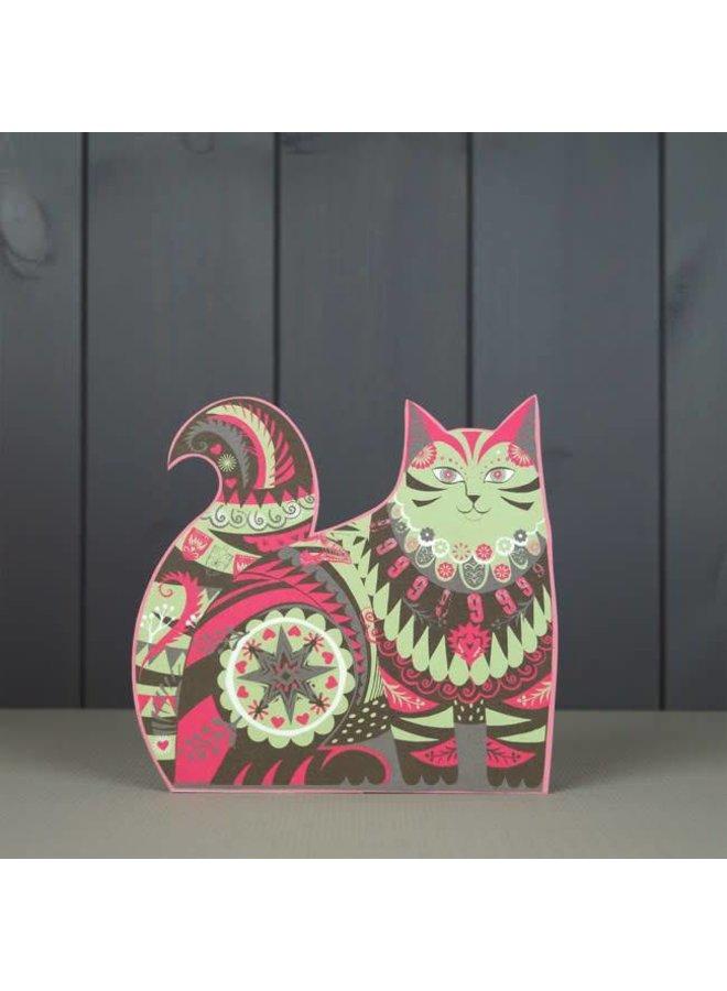 Marmaduke Cat-Schnittkarte von Sarah Young