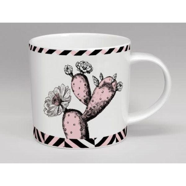Flor rosa de cacutus