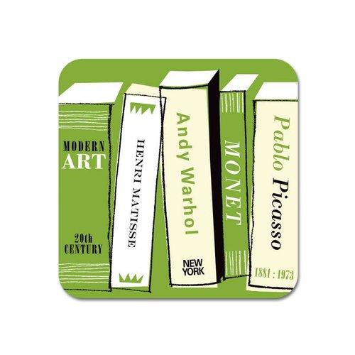 Repeat Repeat Gallery Fridge Magnet Art Books green  67