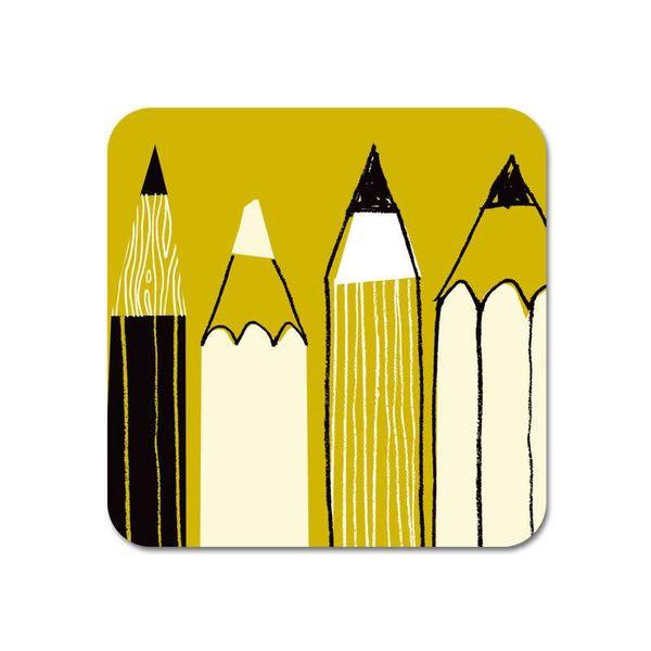 Galerie Kühlschrankmagnet Bleistift oliv 60